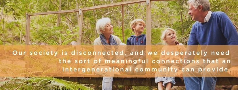 disconnected communities need intergenerational ministry