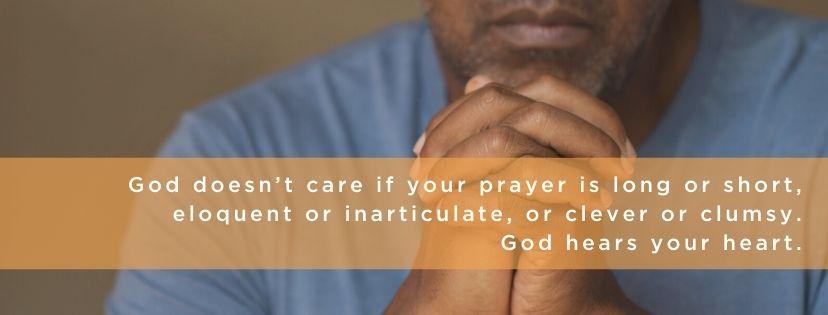 prayer sunday school lesson