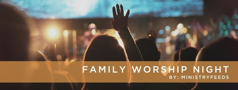 Family worship night image