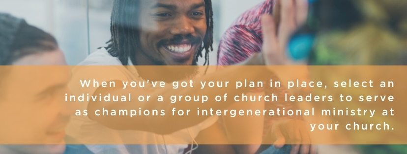 execute plan for intergenerational ministry quote