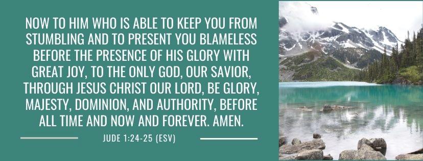 Scripture Image Jude 1:24-25